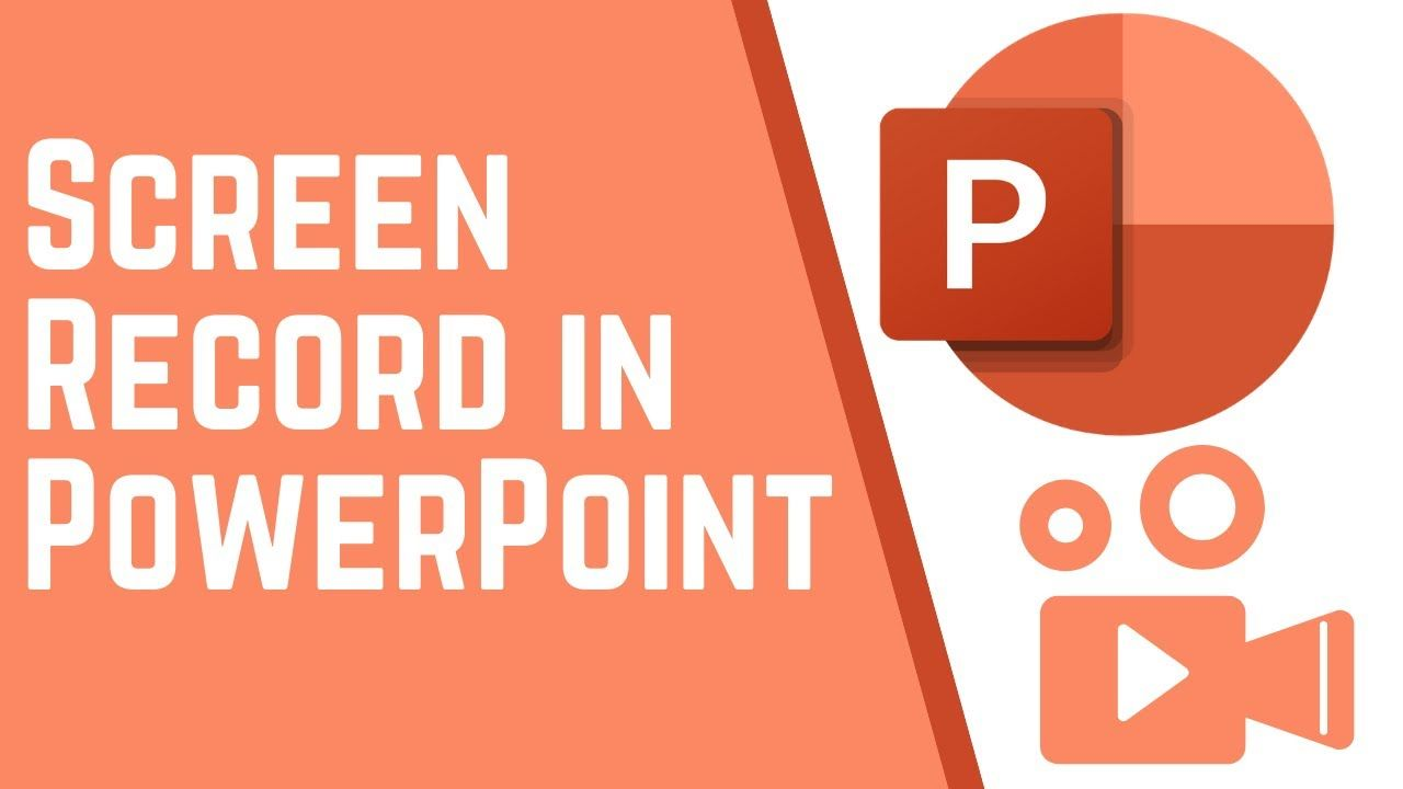 How to use powerpoint as a screen recorder in 2020 how