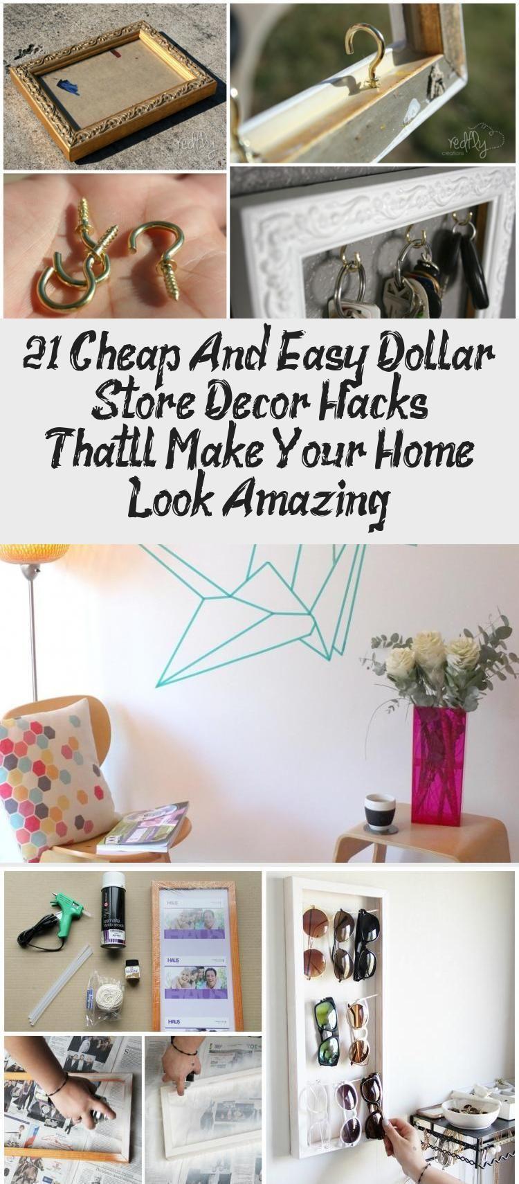 Cheap Home Decor Hacks Home Decor Hacks Dollar Store Decor Decor Hacks Diy