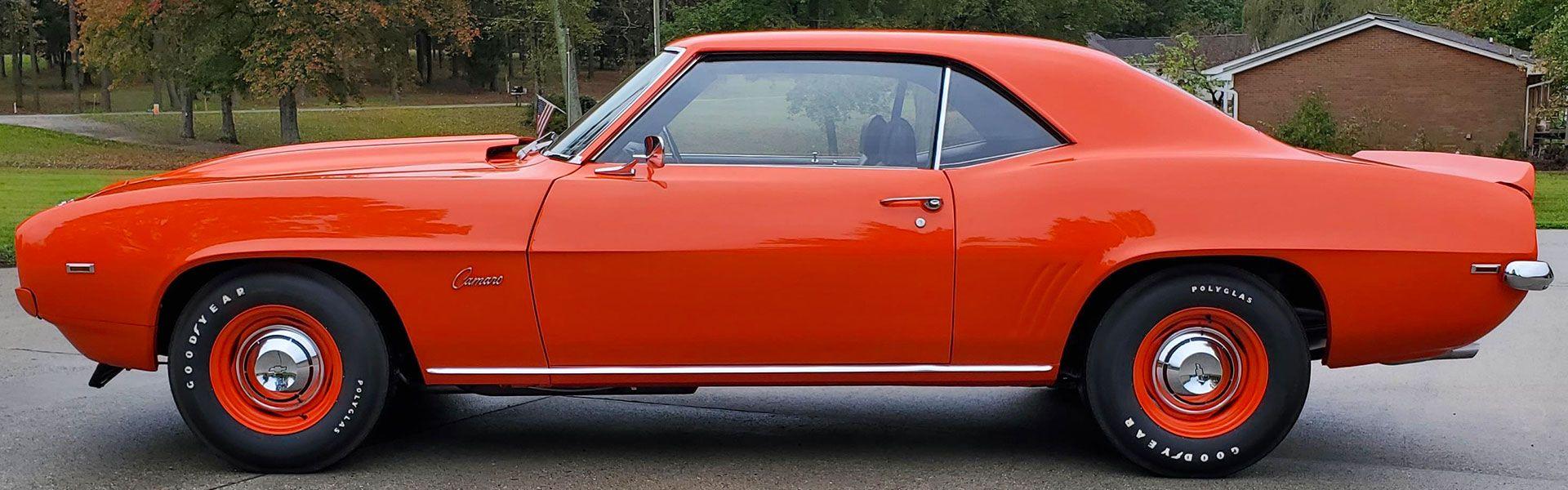 For Sale 1969 Chevrolet Camaro Zl 1 427 Hugger Orange High Quality Correct Nut And Bolt Restoration Of 61 Camaro For Sale Chevrolet Camaro Camaro Restoration