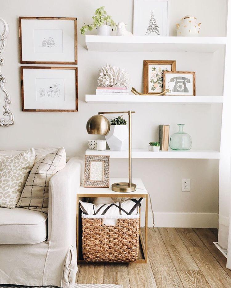 Shelving For Living Room Walls Rattan Side Tables 17 Trendiest Decorations Ideas Decorativos Pinterest