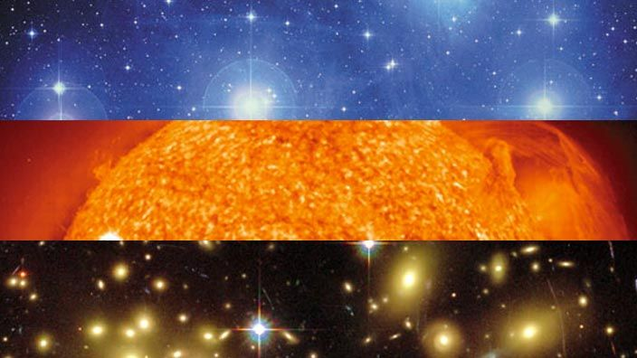 How Big Is Our Universe Scale Of The Universe Universe Earth