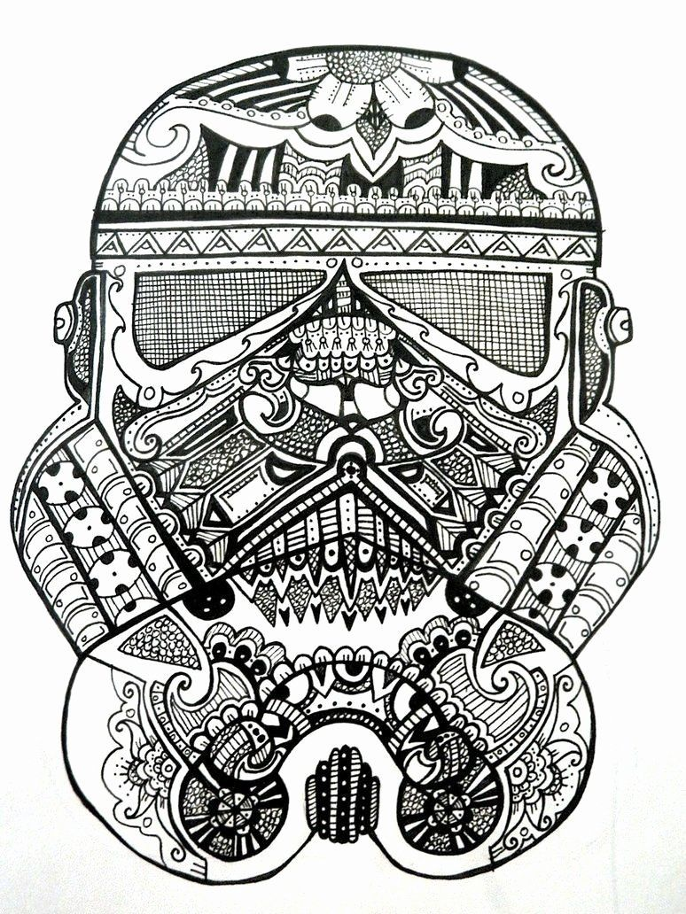 Adult Star Wars Coloring Pages in 2020 Star wars