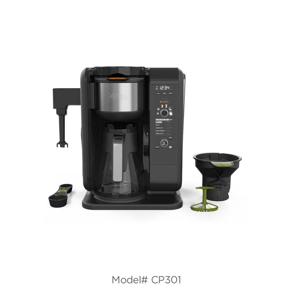 KRUPS Espresso Machine Bravo 871 Glass Carafe & Black Lid