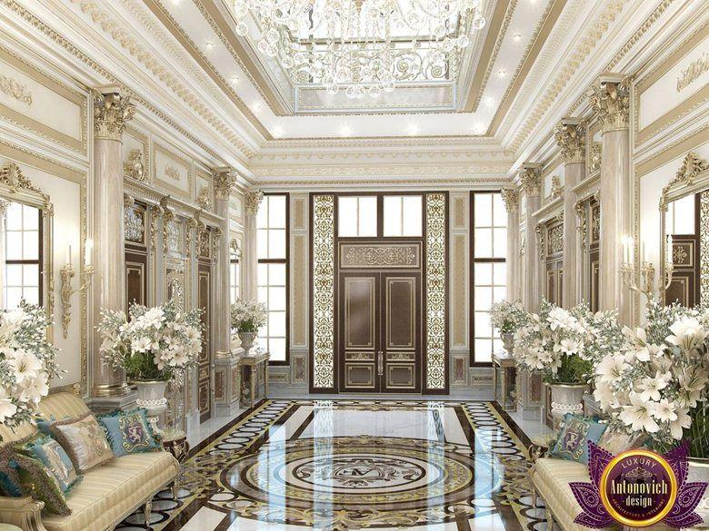 Interior design villa saudi arabia of katrina antonovich for Villa lobby interior design