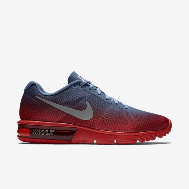 Nike Air Max Sequent: Red/Grey