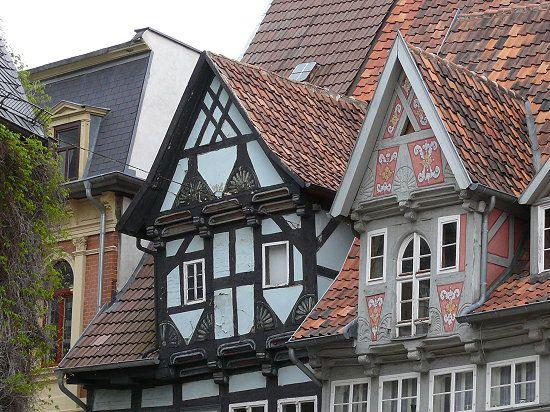 Quedlinburg, Germany Fachwerkhäuser, Reisen