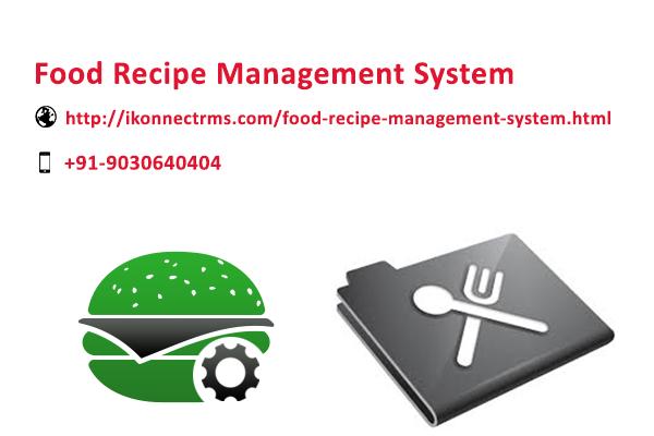 Food recipe management system httpikonnectrmsfood recipe food recipe management system httpikonnectrmsfood recipe forumfinder Gallery