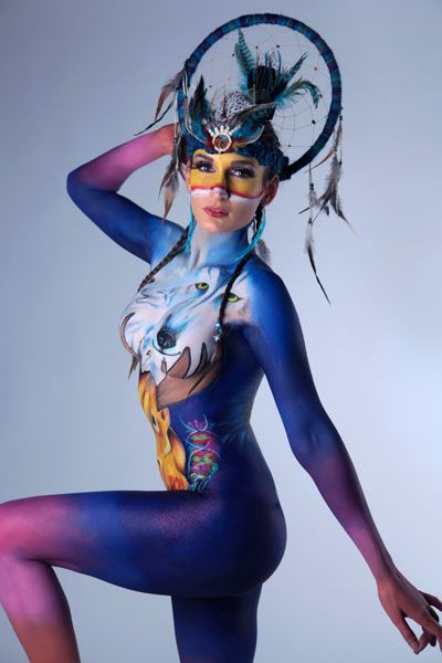 Body art contest part of Common Threads competition at