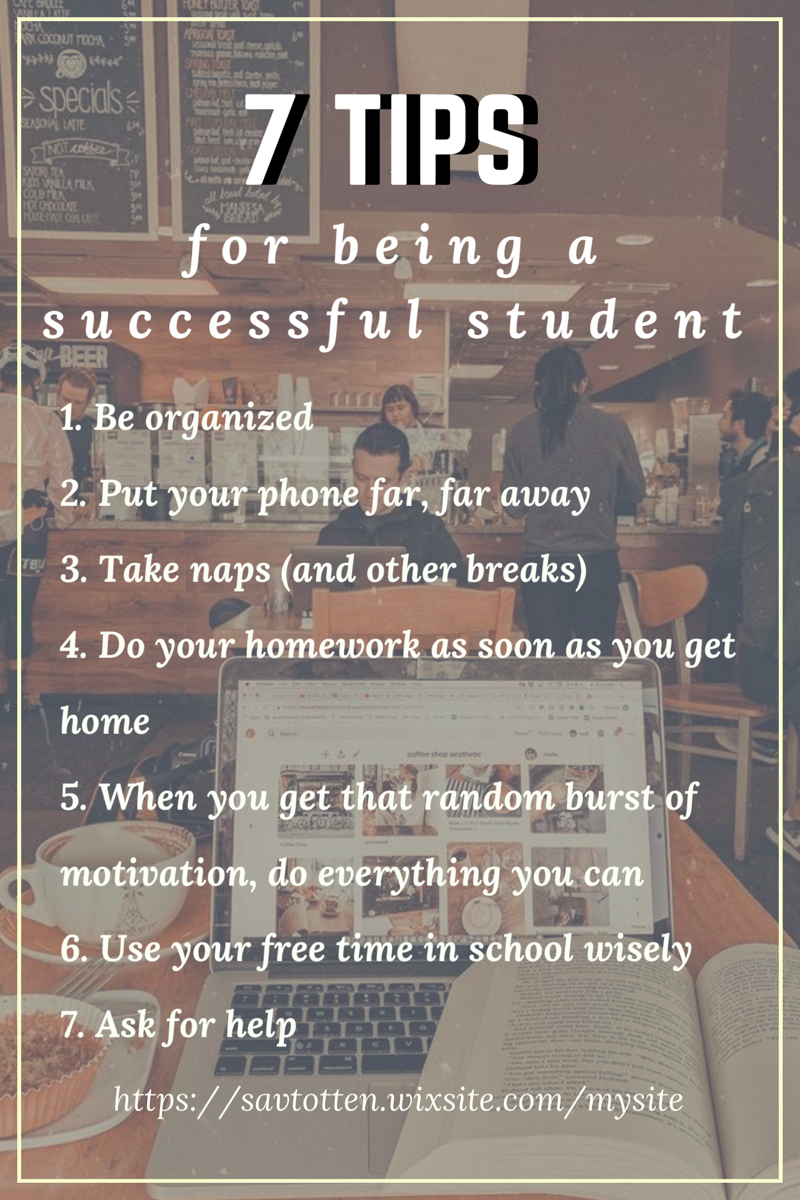 7 Tips for Being a Successful Student