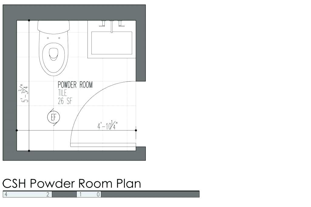 Image Result For 4x5 Powder Room Layout Room Layout Bathroom Dimensions Powder Room