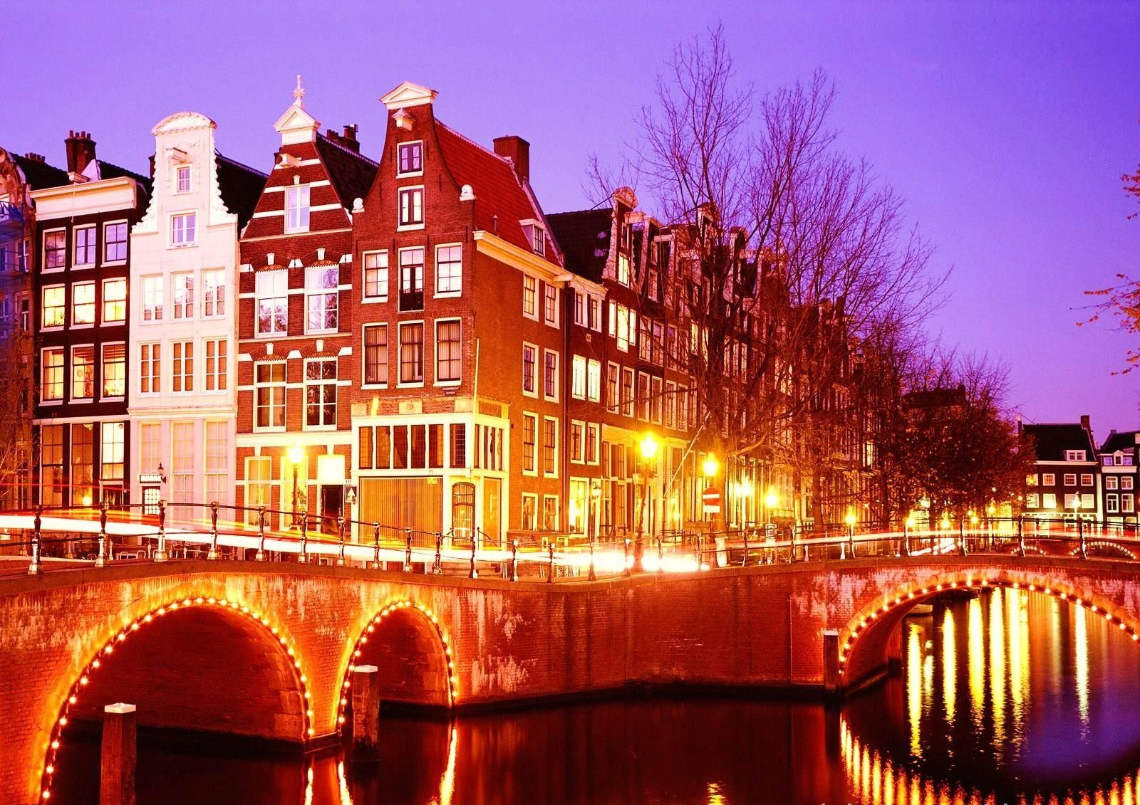 The canals - Amsterdam