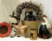 Primitive Country Christmas Decorating Ideas - Bing Images