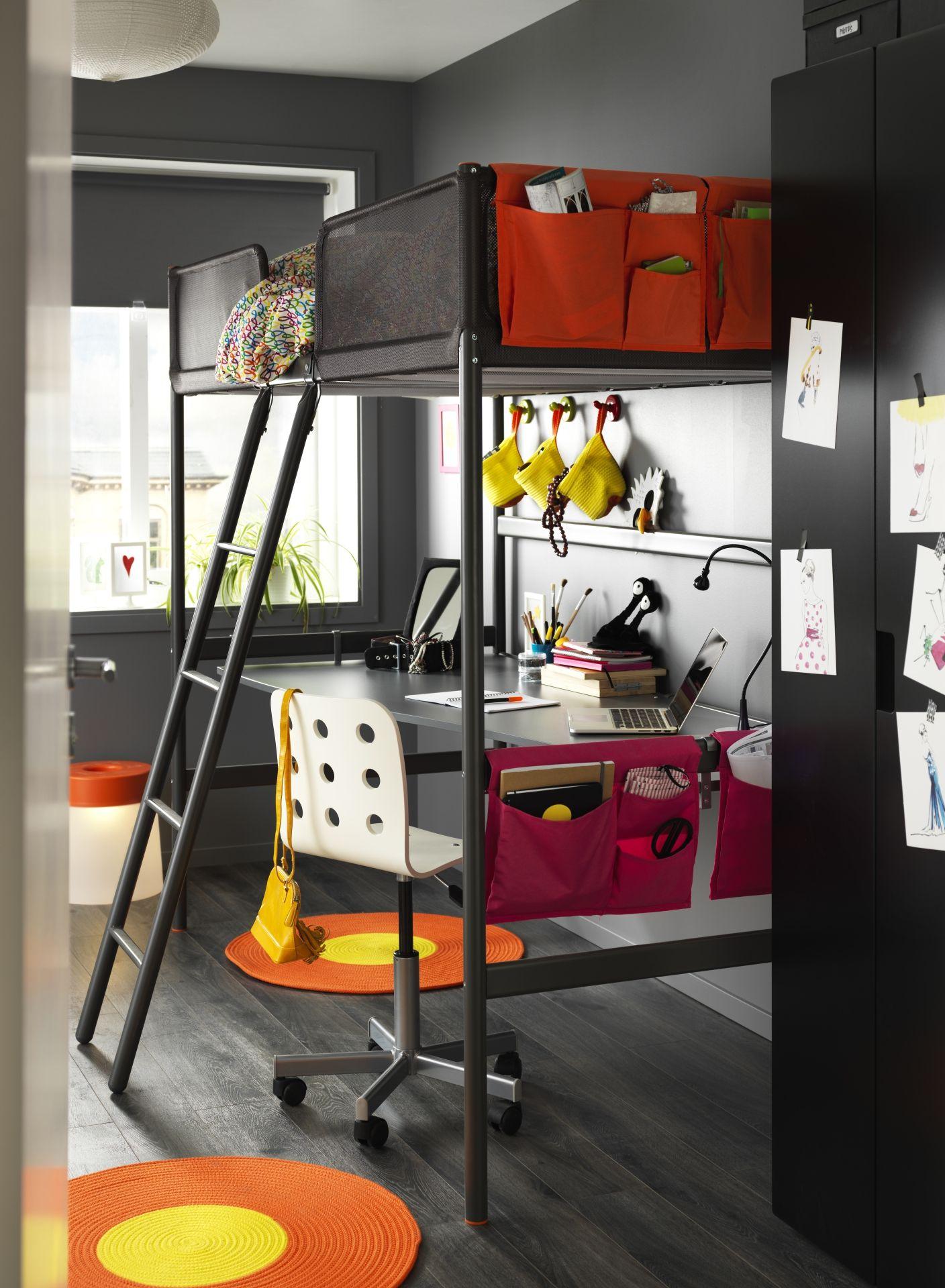 Hochbett Schreibtisch Ikea