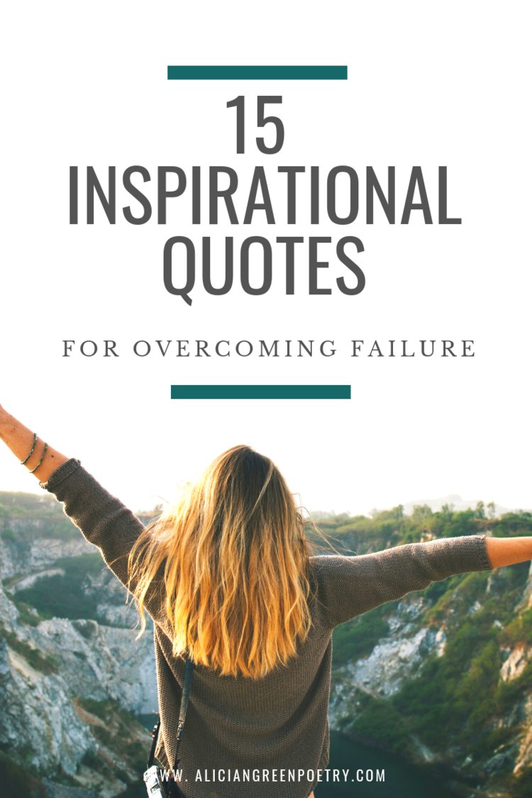15 Inspirational Quotes for Overcoming Failure ...