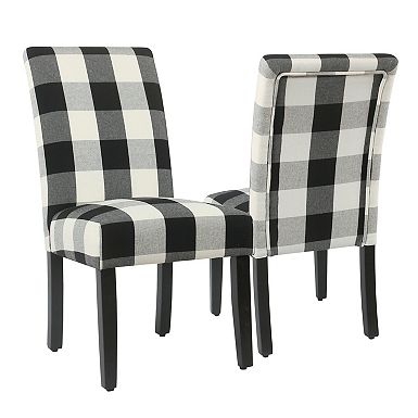 Black Buffalo Check Counter Stool In 2019 Parsons Dining