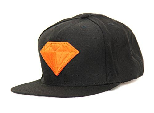 Diamond Supply Co Men S Emblem Snapback Hat Black Orange Diamond Supply Co Http Www Amazon Com Dp B Diamond Supply Co Snapback Hats Diamond Supply