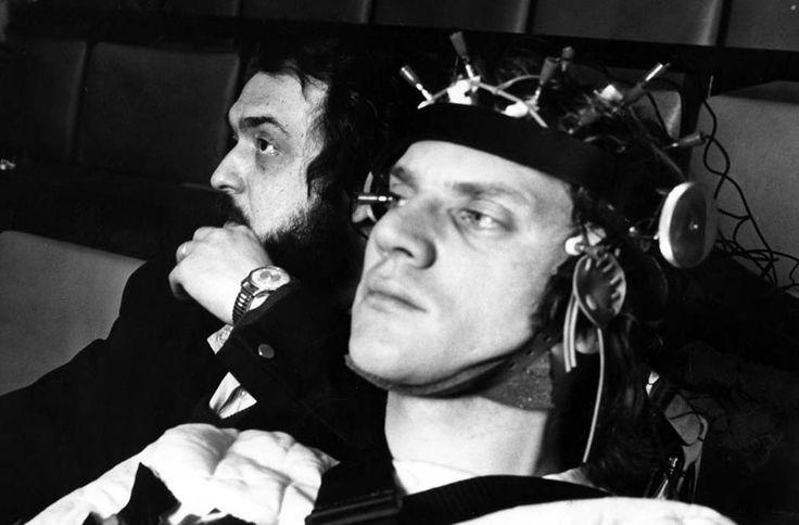 "Kubrick/McDowell sul set di ""ARANCIA MECCANICA"" -"