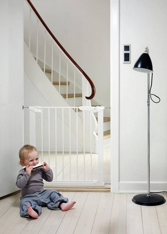 BabyDan Premier Pressure Fit Safety Gate White £19.99