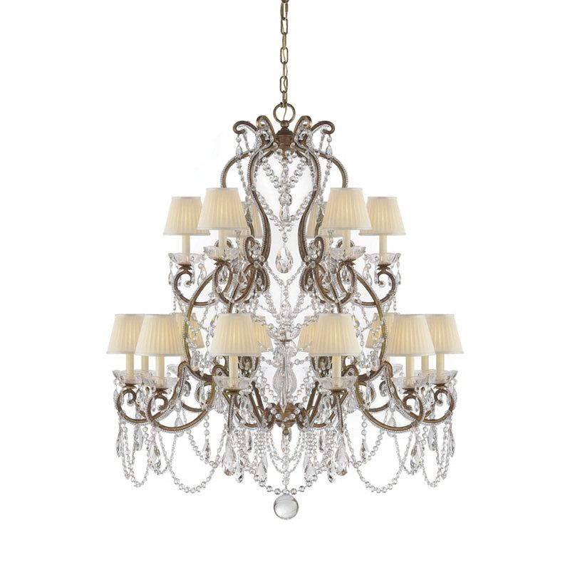 Adrianna Medium Chandelier - Ceiling Fixtures - Lighting - Products ...