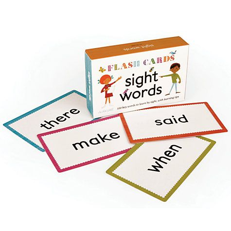 word flash cards online