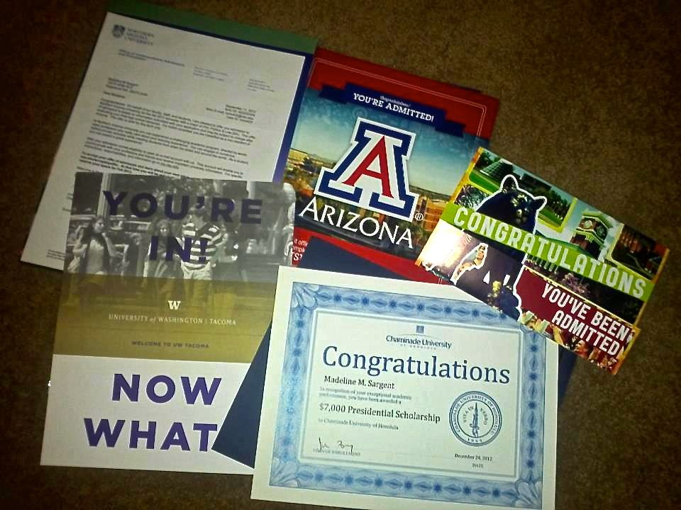 college acceptance letters Welcome to College Pinterest