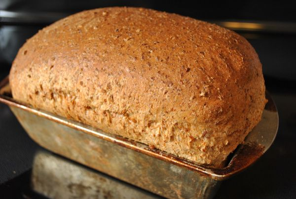 100 % Sprouted Wheat Bread   Dancing in the Kitchen