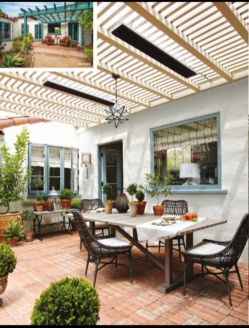 Patio Redone Architectural Digest Outdoor Rooms Patio