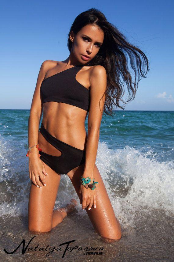Edgy Black Bikini