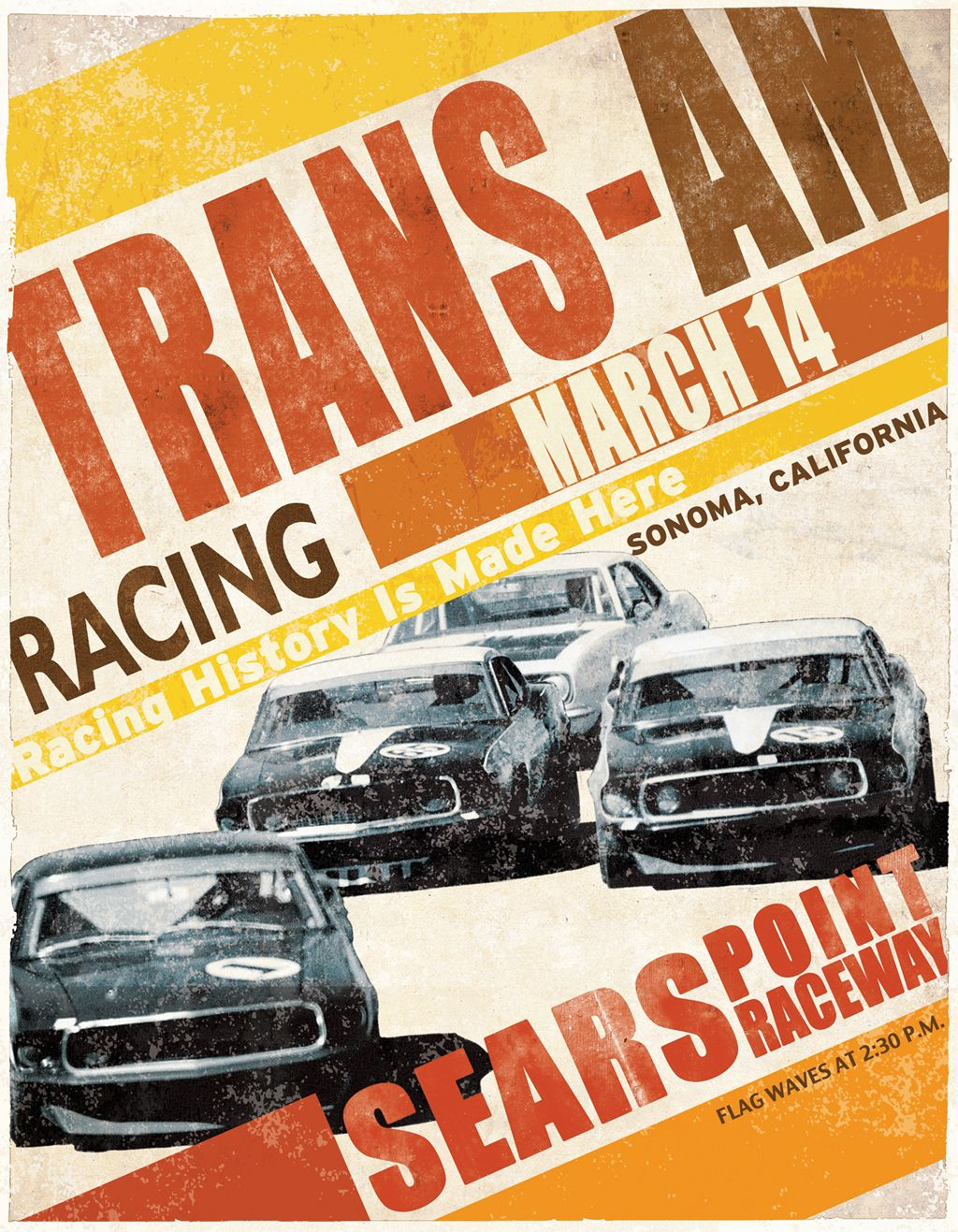 Racing poster | Cars & bikes | Pinterest | Vintage racing, Cars and ...