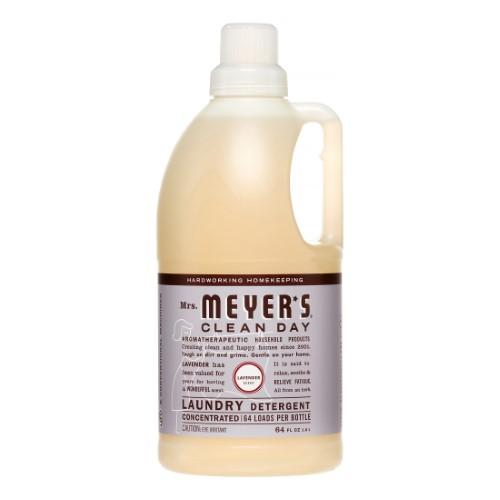 Mrs Meyer S Clean Day 2x Laundry Detergent Lavender Vanilla