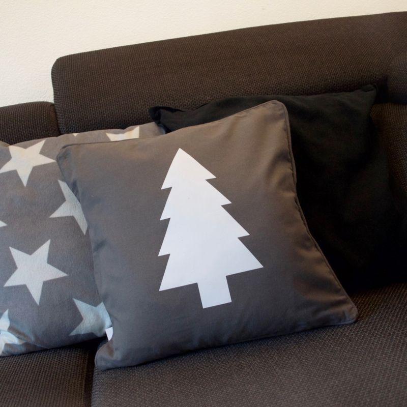 Kussenhoesje 'Kerstboom' #suededesign