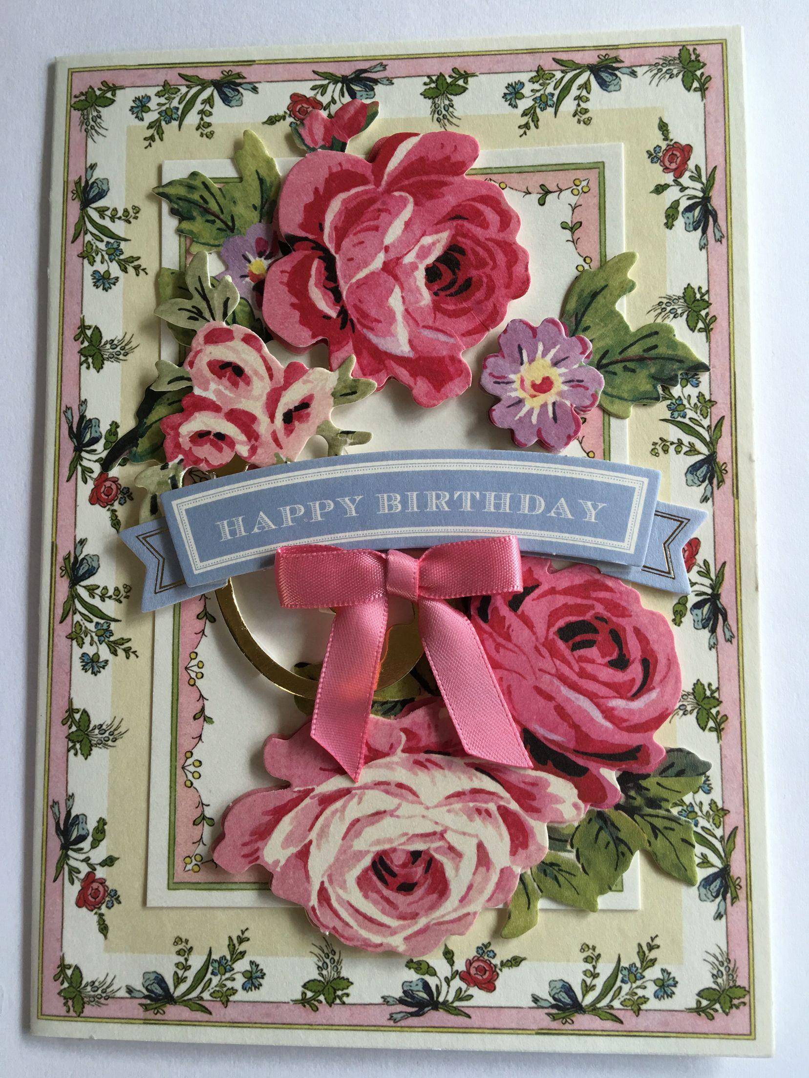 Lynn Gumowski's Design: Birthday card for Megan G's 20th using Pretty Paintings card set