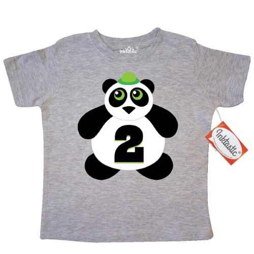 inktastic Its My First Birthday with Panda Bear Toddler T-Shirt