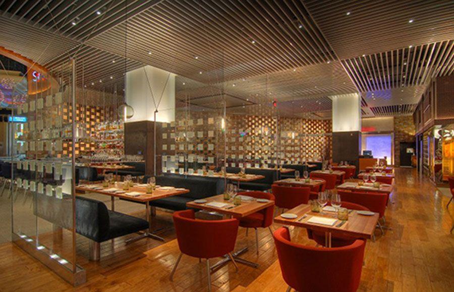 Contemporary Hospitality Interior Design Bally Hotel Las Vegas Restaurant