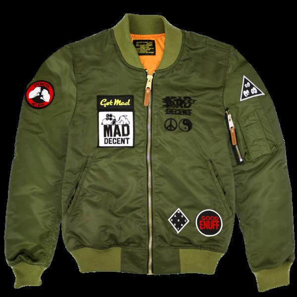 Mad Decent Flight Jacket | Mad Decent | Online Store, Apparel ...