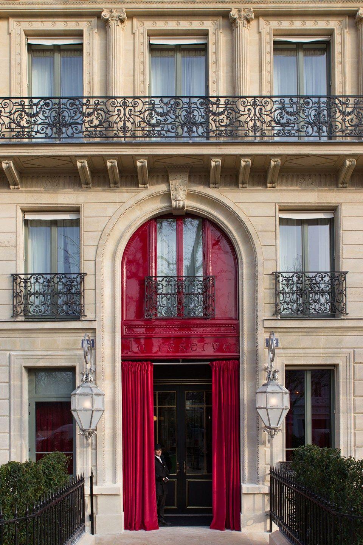 Exclusive Review La Reserve Paris Interer Paris Hotels Best
