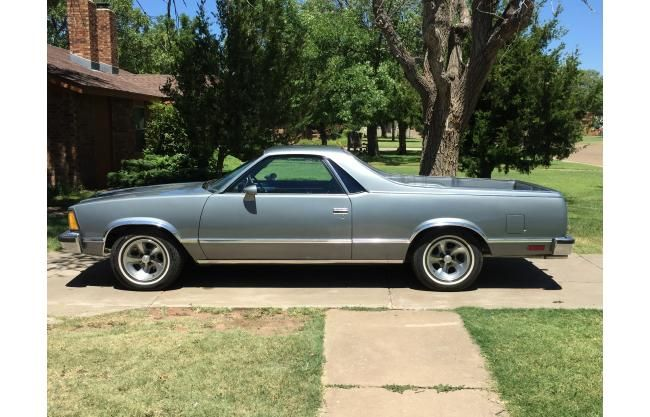 For Sale 1981 Chevrolet El Camino Hotrodhotline Com Chevrolet