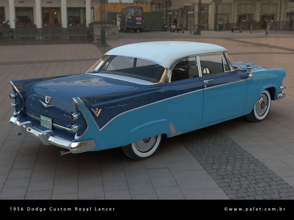 1955 dodge custom royal lancer 4 door sedan 15699 - 1956 Dodge Custom Royal Lancer Two Door Hardtop
