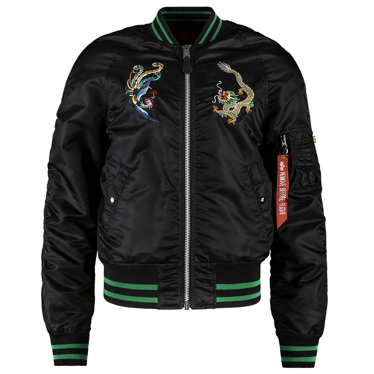 2196455a2 MA-1 Souvenir Year of the Rooster Flight Jacket | Boards, Art and ...