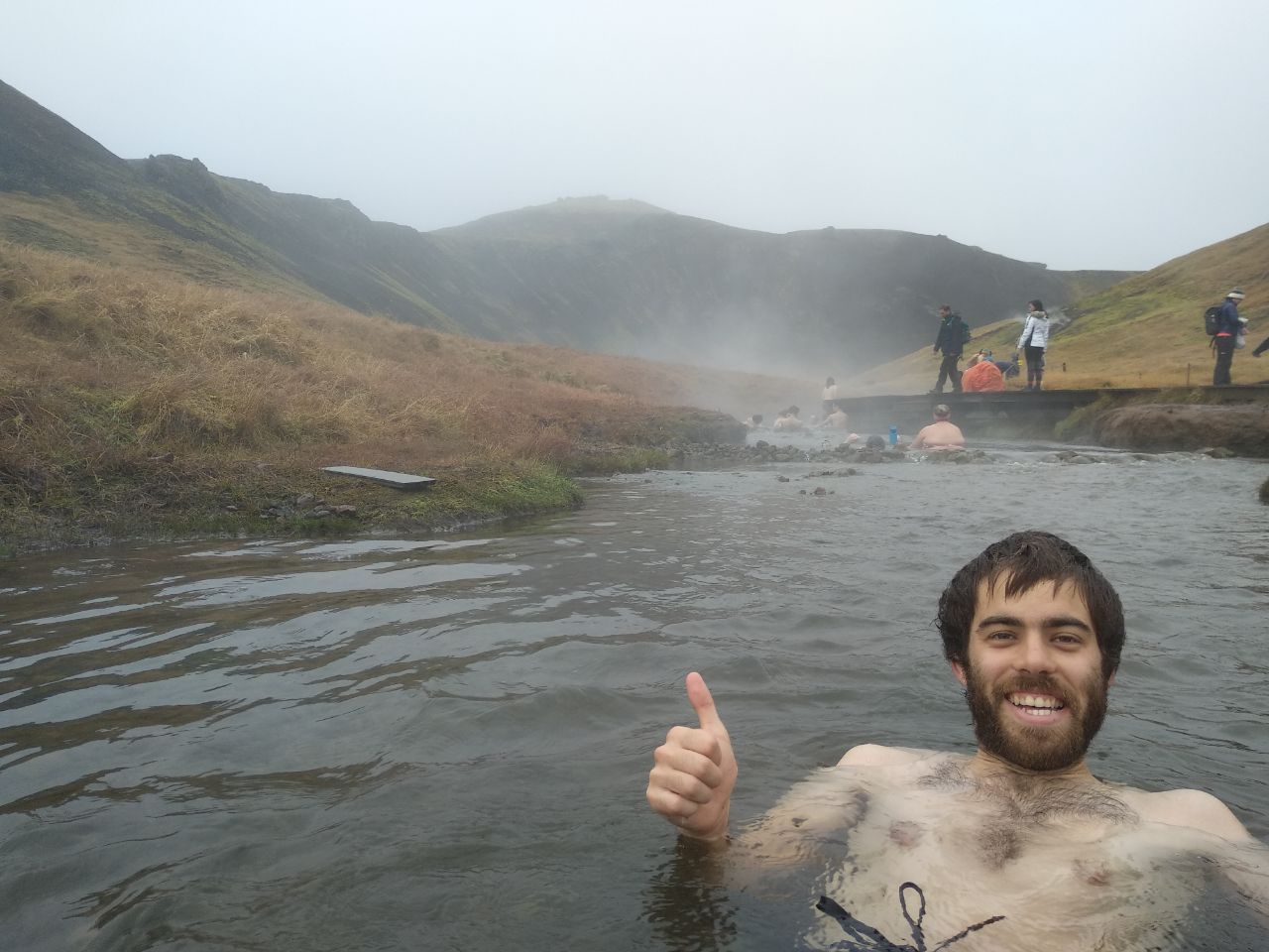 Maravillosas aguas termales cerca de Reykjavic
