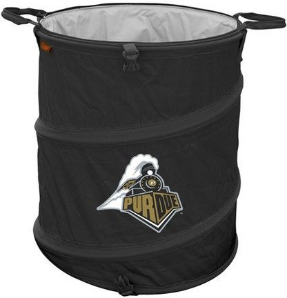 Purdue Boilermakers Collapsible Trash Can Doubles As Cooler And Laundry Hamper Onlinesports Com Chairs Logo Chicago White Sox Missouri Tigers