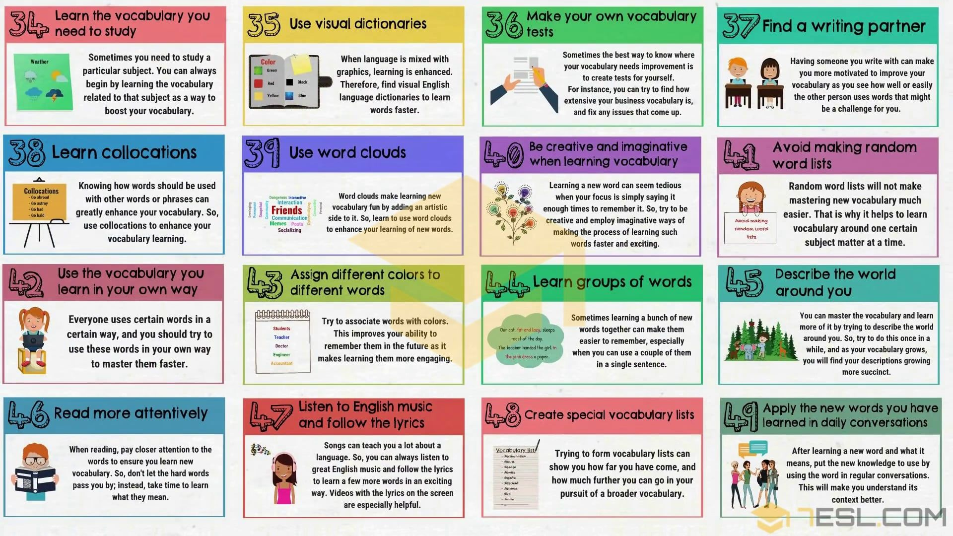 How To Improve Vocabulary 50 Simple Tips