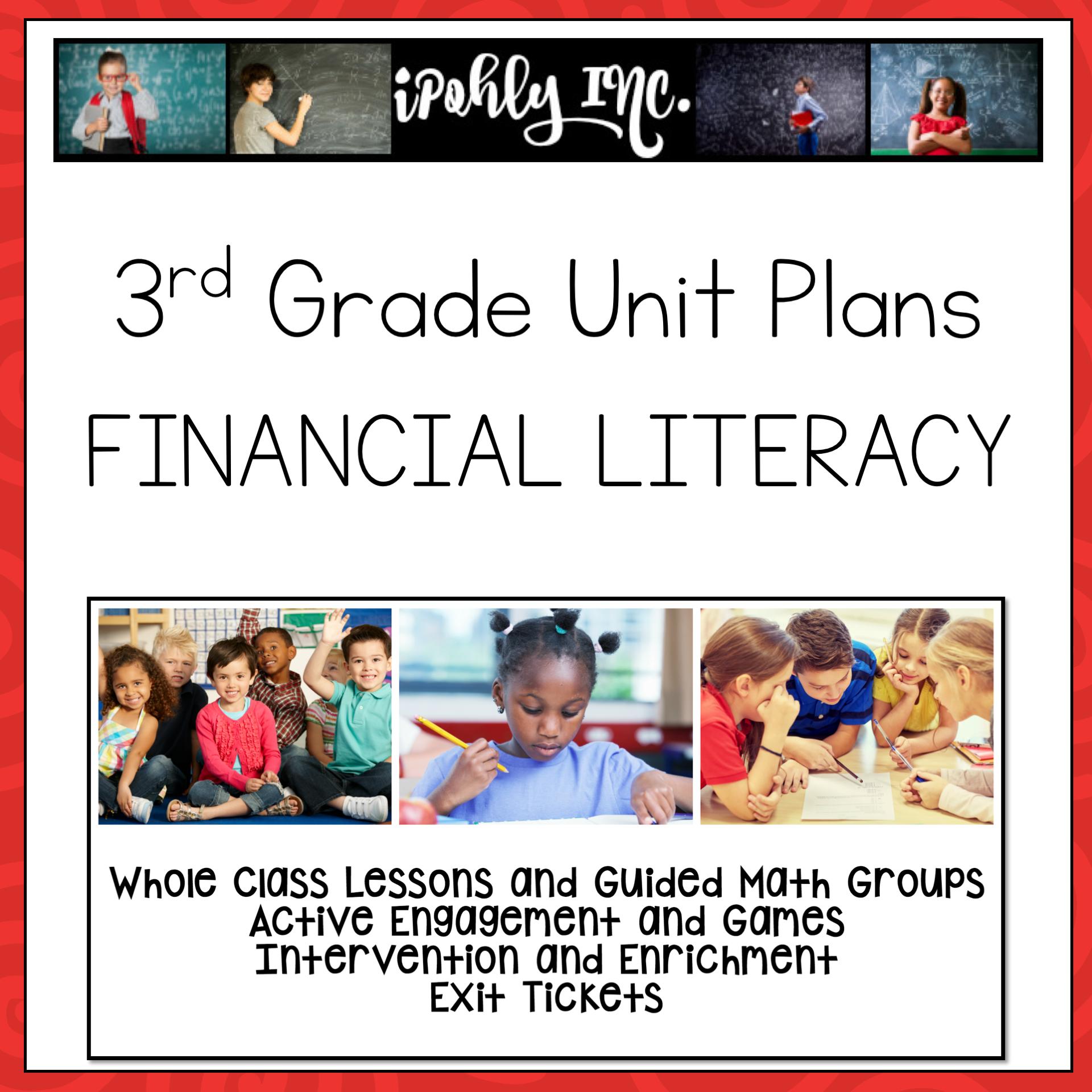 3rd Grade Lesson Plans Financial Literacy 3 9a 3 9b 3 9c 3