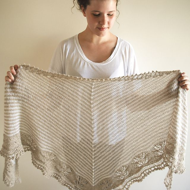 Ravelry: LizChristine's andrea's shawl