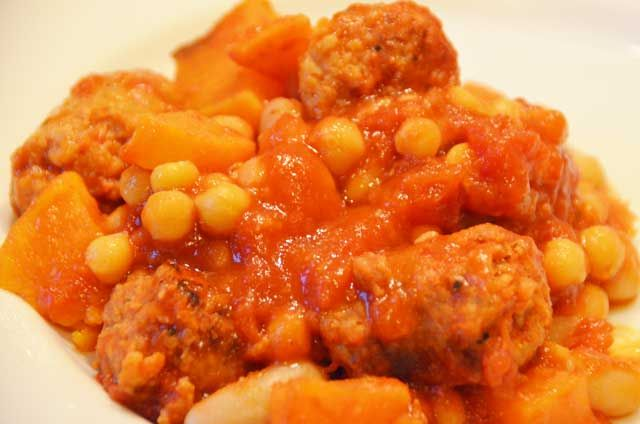 Spicy Sausage And Bean Stew - Easy Supper any night of the week. Low cost, easy, filling and delicious!