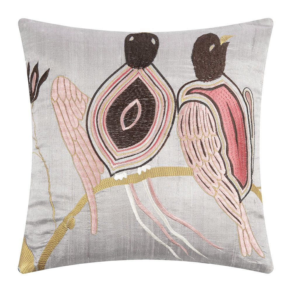 Buy The Love Birds Cushion Cover Ashis 40x40cm From Day Birger Et Mikkelsen At Amara Free Uk Delivery On All Orders Over 70 00 Cuscini