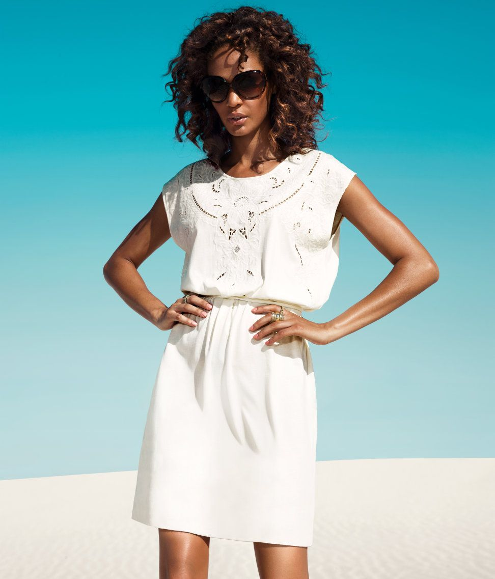 Joan Smalls White summer outfit | LisaRaye - All White Everything ...