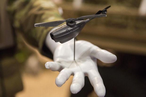 DARPA wants vanishing drones
