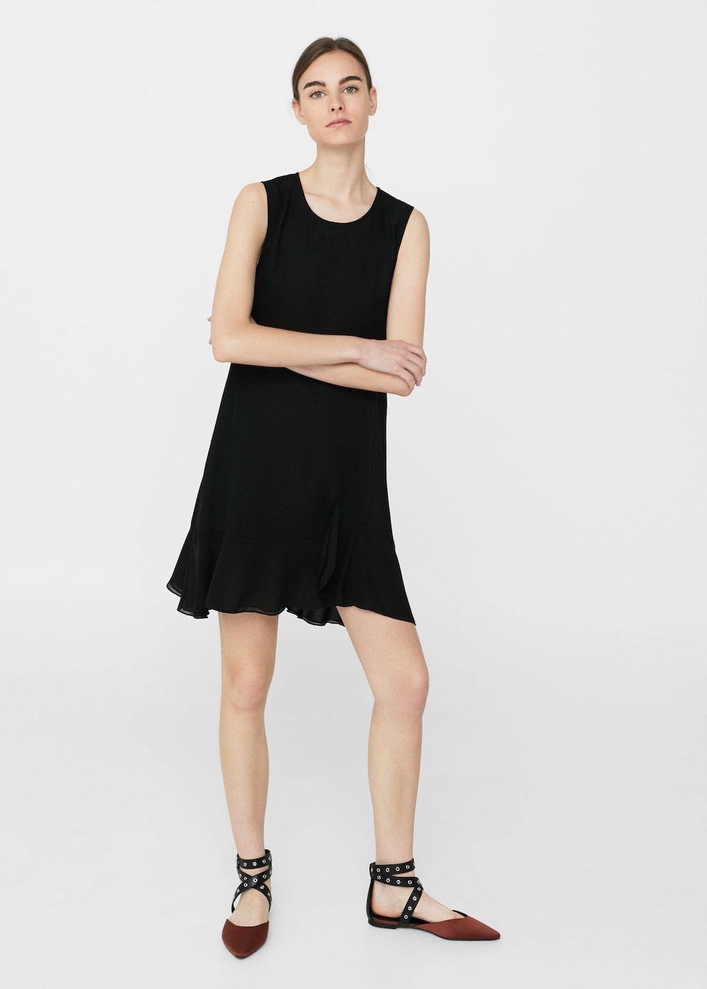a7f322a15889 Flowy ruffled dress - Women | Clothing | Dresses, Ruffle dress, Fashion