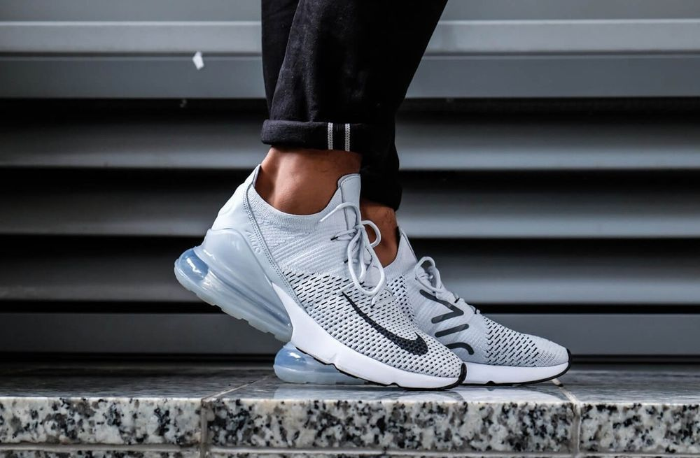 buy online cb203 1fa0a NIKE AIR MAX 270 FK   PURE PLATINUM-BLACK-DARK GREY   AO1023-
